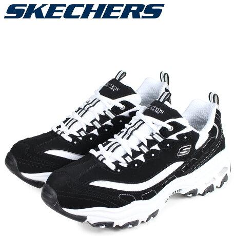 SKECHERS スケッチャーズ ディライト スニーカー メンズ ディーライト D LITES ブラック 黒 52675