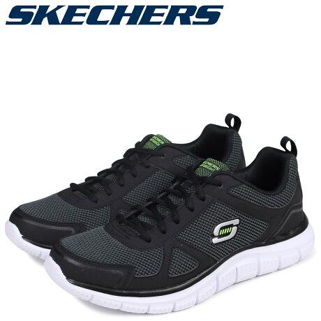 スケッチャーズ SKECHERS トラックリピーツ メンズ スニーカー TRACK REPEATS 999724 ブラック [予約商品 9/14頃入荷予定 追加入荷]