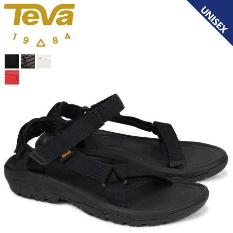 テバ Teva サンダル レディース ハリケーン XLT2 HURRICANE ブラック ホワイト レッド 1019235 [4/18 新入荷]