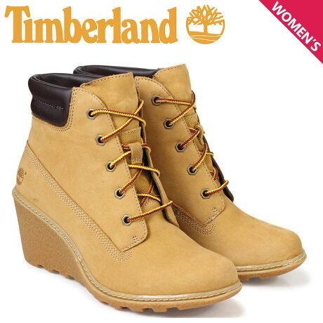Timberland レディース ブーツ 6インチ ティンバーランド AMSTON 6INCH BOOTS 8251A Wワイズ ベージュ [予約商品 3/14頃入荷予定 新入荷]