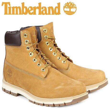 ティンバーランド ブーツ メンズ 6インチ Timberland RADFORD 6INCH PREMIUM BOOT A1JHF ウォータープルーフ Wワイズ 防水 ブラウン [予約商品 7/7頃入荷予定 追加入荷]