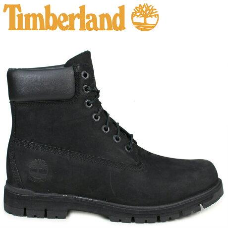 ティンバーランド ブーツ メンズ 6インチ Timberland RADFORD 6INCH PREMIUM BOOT A1JI2 ウォータープルーフ Wワイズ 防水 ブラック [予約商品 7/7頃入荷予定 再入荷]