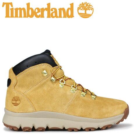 ティンバーランド ブーツ メンズ Timberland WORLD HIKER A1QEW Mワイズ ウィート [9/7 新入荷]