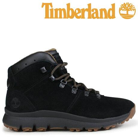 ティンバーランド ブーツ メンズ Timberland WORLD HIKER A1QFL Wワイズ ブラック [予約商品 9/5頃入荷予定 新入荷]