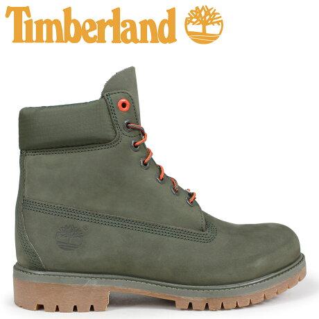 ティンバーランド ブーツ メンズ 6インチ Timberland 6-INCH PREMIUM BOOTS A1QY1 Wワイズ グリーン [予約商品 10/11頃入荷予定 新入荷]