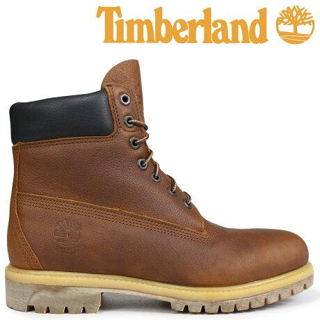 ティンバーランド ブーツ メンズ 6インチ Timberland HERITAGE 6-INCH PREMIUM BOOTS A1R18 Wワイズ ブラウン [予約商品 9/5頃入荷予定 新入荷]