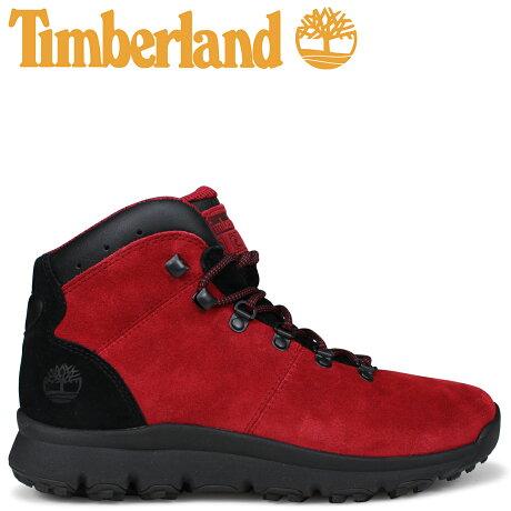 ティンバーランド ブーツ メンズ Timberland WORLD HIKER A1RBE Mワイズ ミディアムレッド [9/7 新入荷]