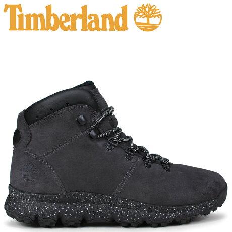ティンバーランド ブーツ メンズ Timberland WORLD HIKER A1RCK Mワイズ ダークグレー [9/7 新入荷]