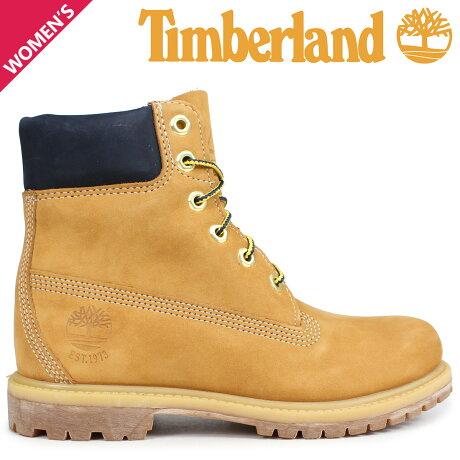 ティンバーランド ブーツ レディース 6インチ Timberland 6-INCH PREMIUM BOOTS A1SI1 Wワイズ ウィート [予約商品 9/5頃入荷予定 新入荷]