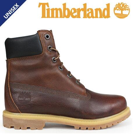 ティンバーランド ブーツ レディース 6インチ Timberland 6-INCH PREMIUM BOOTS A1TLM Wワイズ ブラウン [予約商品 9/5頃入荷予定 新入荷]