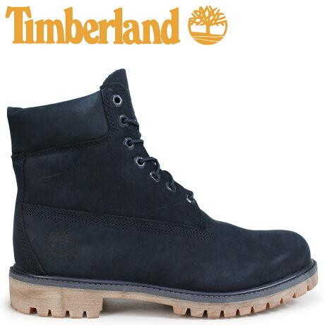 ティンバーランド ブーツ メンズ 6インチ Timberland 6-INCH PREMIUM BOOTS A1TSZ Wワイズ ネイビー [予約商品 10/22頃入荷予定 新入荷]