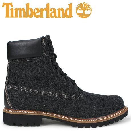 ティンバーランド ブーツ メンズ 6インチ Timberland 6-INCH LTD WOOL BOOTS A1U6Z Wワイズ グレー [10/11 新入荷]