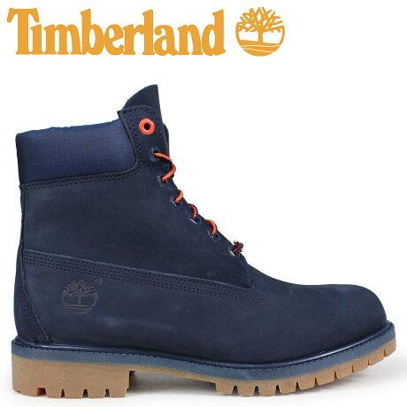 ティンバーランド ブーツ メンズ 6インチ Timberland 6-INCH PREMIUM BOOTS A1U7X Wワイズ ネイビー [予約商品 10/11頃入荷予定 新入荷]
