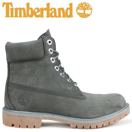 ティンバーランド ブーツ メンズ 6インチ Timberland 6-INCH PREMIUM BOOTS A1UFH Wワイズ ダークグレー [9/7 新入荷]