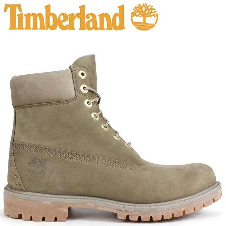 ティンバーランド ブーツ メンズ 6インチ Timberland 6-INCH PREMIUM BOOTS A1UFS Wワイズ ダークベージュ [9/7 新入荷]