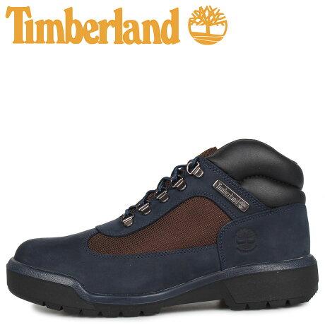 ティンバーランド Timberland ブーツ フィールドブーツ メンズ ウォータープルーフ FIELD BOOT F/L WATERPROOF ネイビー A1XMX [予約商品 9/30頃入荷予定 新入荷]