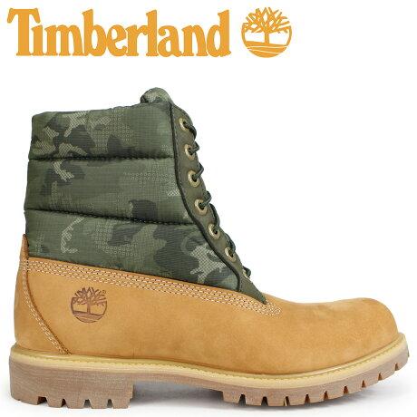 ティンバーランド ブーツ メンズ 6インチ Timberland 6-INCH PREMIUM PUFF BOOTS A1ZRH Wワイズ ウィート [予約商品 10/22頃入荷予定 新入荷]