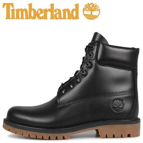 ティンバーランド Timberland ブーツ 6インチ クラシック メンズ ウォータープルーフ 6INCH CLASSIC WATERPROOF BOOT ブラック 黒 A22WK [9/19 新入荷]