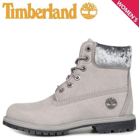 ティンバーランド Timberland ブーツ 6インチ ウォータープルーフ レディース WOMENS ICON 6INCH F/L WATERPROOF BOOTS グレー A231F [9/30 新入荷]