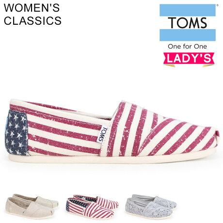 TOMS SHOES トムス シューズ レディース スリッポン WOMEN'S CLASSICS トムス トムズシューズ [予約商品 6/27頃入荷予定 新入荷]