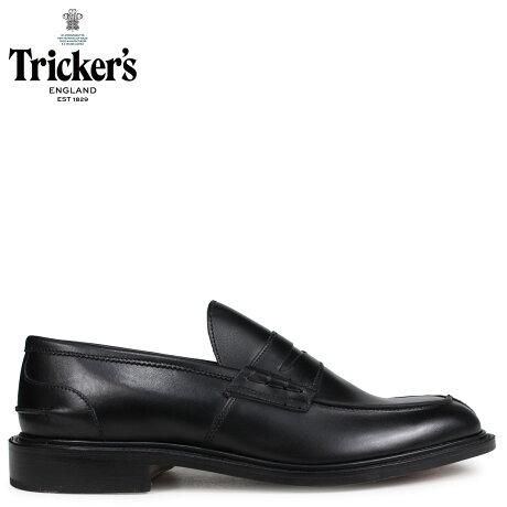トリッカーズ Tricker's ローファー シューズ JAMES 5ワイズ メンズ ブラック 3227 [予約商品 10/18頃入荷予定 追加入荷]