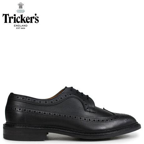 トリッカーズ Tricker's ウイングチップ シューズ RICHARD 5ワイズ メンズ ブラック 5164 [予約商品 10/18頃入荷予定 追加入荷]