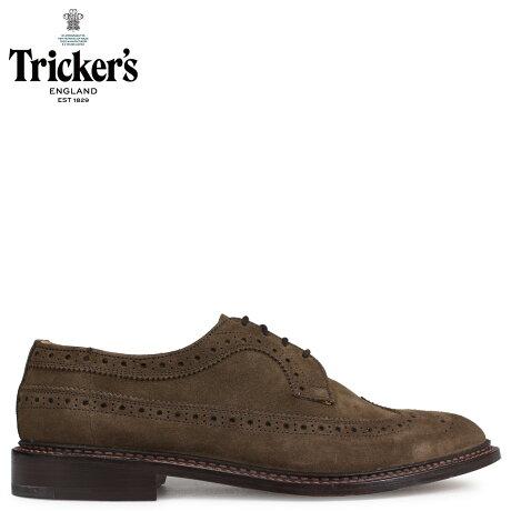 トリッカーズ Trickers ウイングチップ シューズ RICHARD 5ワイズ メンズ ブラウン 5164 [予約 2/26 追加入荷予定]