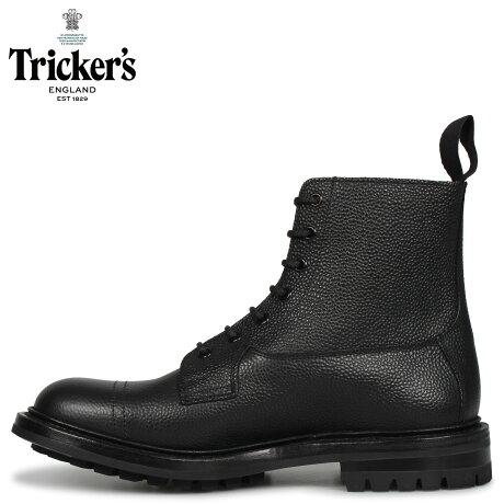 トリッカーズ Tricker's カントリーブーツ GRASSMERE 5ワイズ メンズ ブラック 黒 6895 [予約商品 10/19頃入荷予定 新入荷]