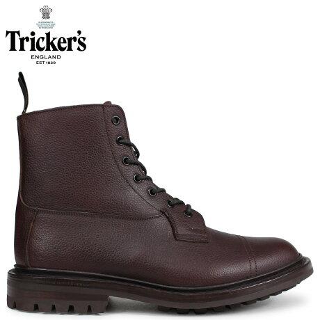 トリッカーズ Tricker's カントリーブーツ GRASSMERE 5ワイズ メンズ ブラウン 6895
