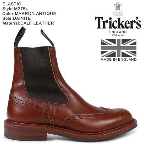 トリッカーズ Trickers サイドゴアブーツ ELASTIC M2754 5ワイズ メンズ [予約 2/26 追加入荷予定]