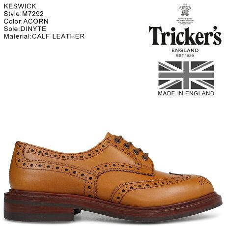 Tricker's トリッカーズ ウイングチップ シューズ KESWICK M7292 5ワイズ メンズ ブラウン [5/24 新入荷]