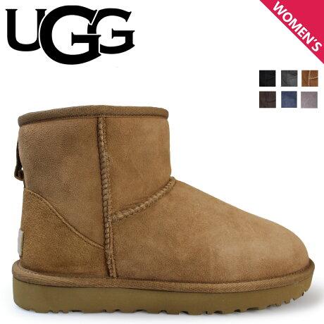 UGG アグ ムートン ブーツ クラシック ミニ 2 WOMENS CLASSIC MINI II 1016222 レディース [10/9 追加入荷]