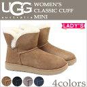 アグ UGG クラシック カフ ミニ ムートンブーツ WOMENS CLASSIC CUFF MINI 1016417 レディース 4カラー