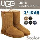 アグ UGG メンズ クラシック ショート ムートンブーツ MENS CLASSIC SHORT 5800 シープスキン