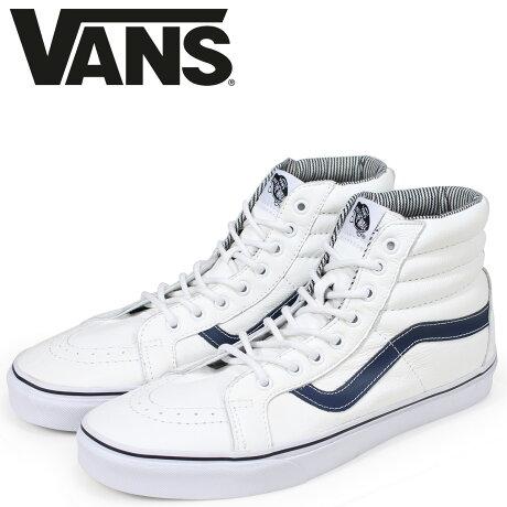 VANS SK8-HI スニーカー メンズ バンズ ヴァンズ スケートハイ REISSUE VN0003CAI1M ホワイト [6/16 新入荷]