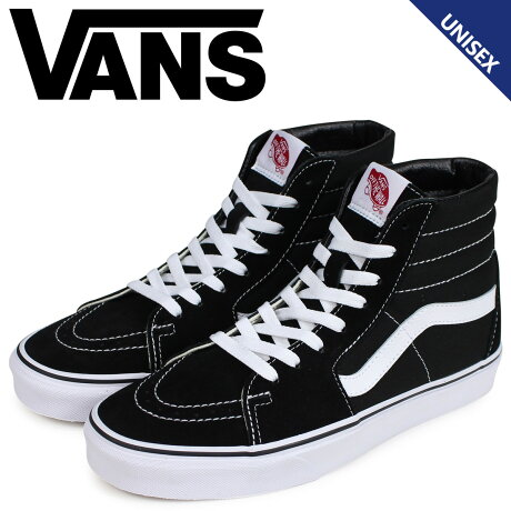 VANS ヴァンズ SK8-HI スニーカー メンズ レディース バンズ スケートハイ ブラック 黒 VN000D5IB8C