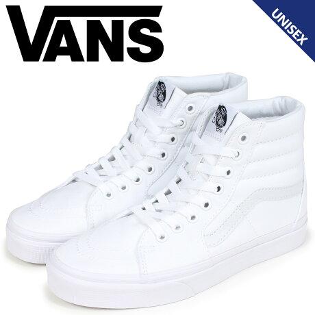 VANS SK8-HI スニーカー スケートハイ レディース メンズ バンズ ヴァンズ VN000D5IW00 ホワイト [予約商品 9/5頃入荷予定 新入荷]