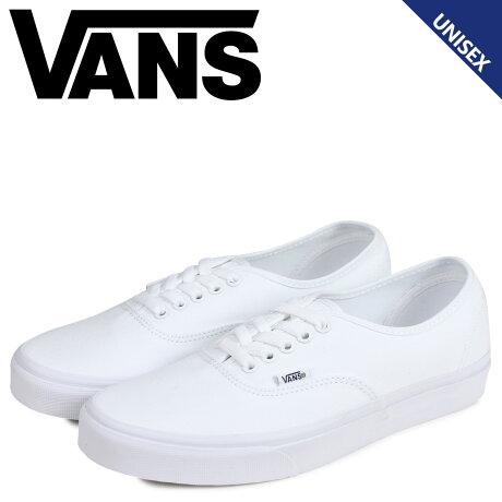 VANS ヴァンズ オーセンティック スニーカー メンズ レディース バンズ AUTHENTIC ホワイト 白 VN000EE3W00 [8/15 追加入荷]