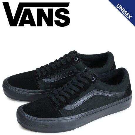 VANS オールドスクール スニーカー メンズ レディース バンズ ヴァンズ OLD SKOOL PRO VN000ZD41OJ 靴 ブラック [予約商品 2/20頃入荷予定 新入荷]