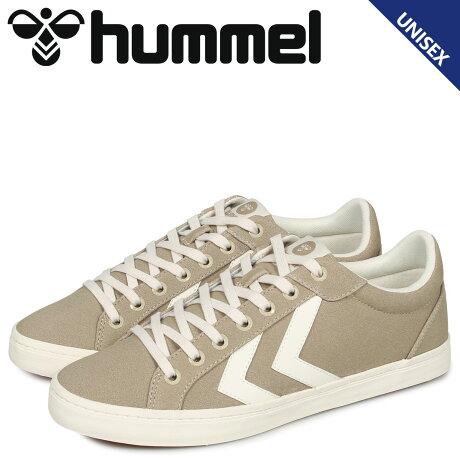 ヒュンメル hummel デュース コート スニーカー メンズ レディース DEUCE COURT ベージュ HM206425-9806 [予約 2/4 追加入荷予定]
