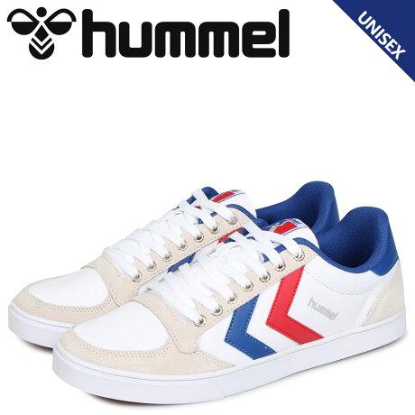ヒュンメル hummel スリマー スタディール ロー キャンバス スニーカー メンズ レディース SLIMMER STADIL LOW CANVAS ホワイト 白 HM63112K-9228 [予約 2/4 追加入荷予定]