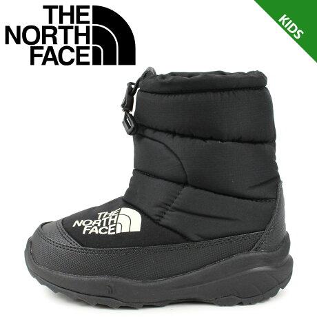 【最大2000円OFFクーポン】 ノースフェイス THE NORTH FACE ヌプシ ブーティー 4 ブーツ キッズ K NUPTSE BOOTIE 4 ブラック 黒 NFJ51981 [予約 1/24 追加入荷予定]