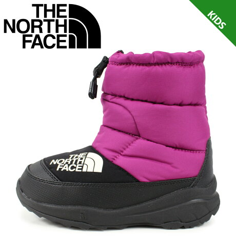 ノースフェイス THE NORTH FACE ヌプシ ブーティー 4 ブーツ キッズ K NUPTSE BOOTIE 4 ピンク NFJ51981 [予約 1/24 再入荷予定]