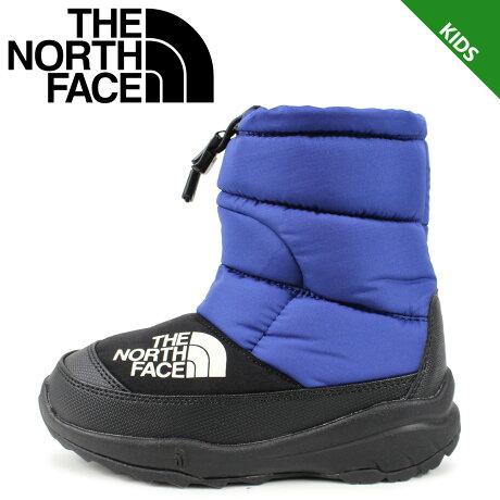 【最大2000円OFFクーポン】 ノースフェイス THE NORTH FACE ヌプシ ブーティー 4 ブーツ キッズ K NUPTSE BOOTIE 4 ブルー NFJ51981 [予約 1/24 追加入荷予定]