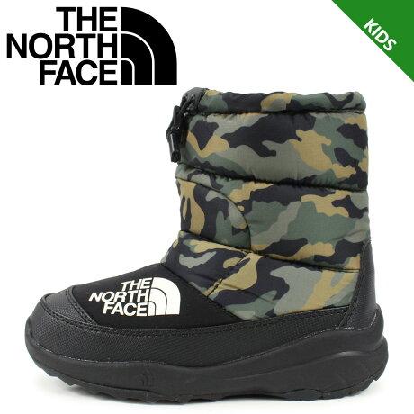 ノースフェイス THE NORTH FACE ヌプシ ブーティー 4 ブーツ キッズ K NUPTSE BOOTIE 4 カモ 迷彩 NFJ51981 [予約 1/24 再入荷予定]