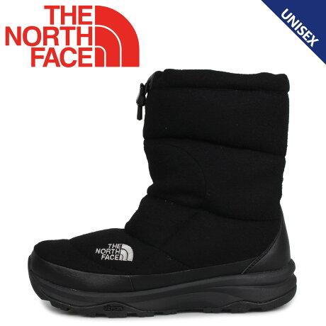 THE NORTH FACE ノースフェイス ヌプシ ブーティ ウール5 ブーツ ウィンターブーツ メンズ レディース NUPTSE BOOTIE WOOL 5 ブラック 黒 NF51978
