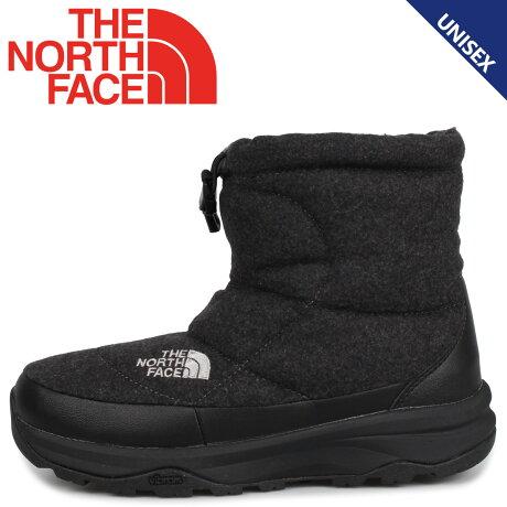 THE NORTH FACE ノースフェイス ヌプシ ブーティ ウール5 ショート ブーツ ウィンターブーツ メンズ レディース NUPTSE BOOTIE WOOL 5 SHORT チャコール グレー NF51979