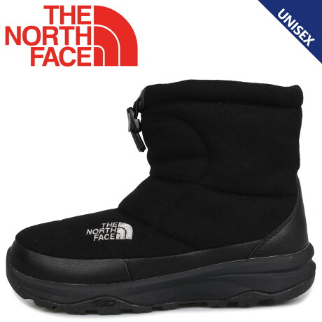 THE NORTH FACE ノースフェイス ヌプシ ブーティ ウール5 ショート ブーツ ウィンターブーツ メンズ レディース NUPTSE BOOTIE WOOL 5 SHORT ブラック 黒 NF51979