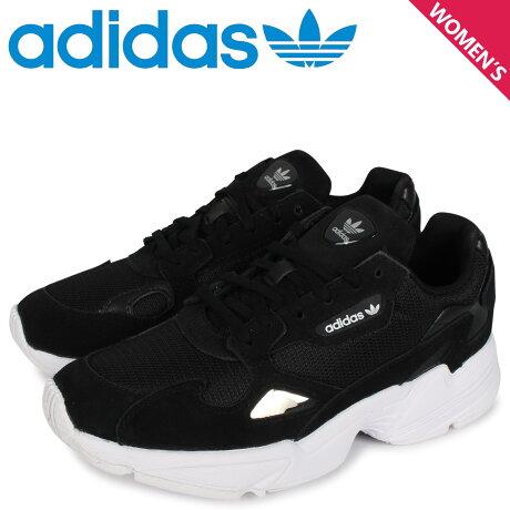 アディダス オリジナルス adidas Originals アディダスファルコン スニーカー レディース ADIDASFALCON W ブラック 黒 B28129 [予約 2/7 新入荷予定]