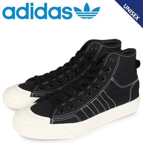 アディダス オリジナルス adidas Originals ニッツァ ハイ スニーカー メンズ レディース NIZZA HI RF ブラック 黒 F34057 [予約 1/31 新入荷予定]